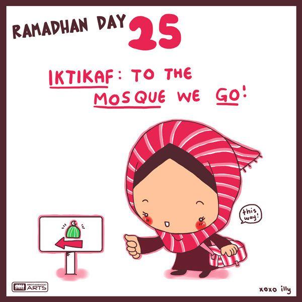 Day 25 Allah Islam Ramadan Komik