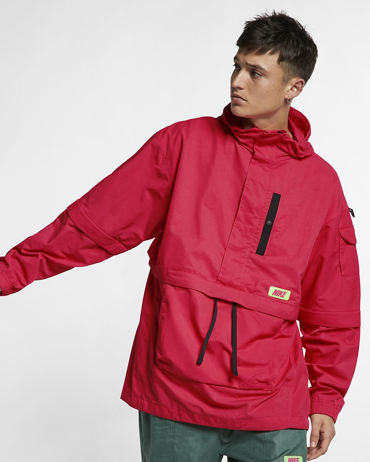 Quest Anorak Jacket | Anorak jacket, Jackets, Half zip pullover