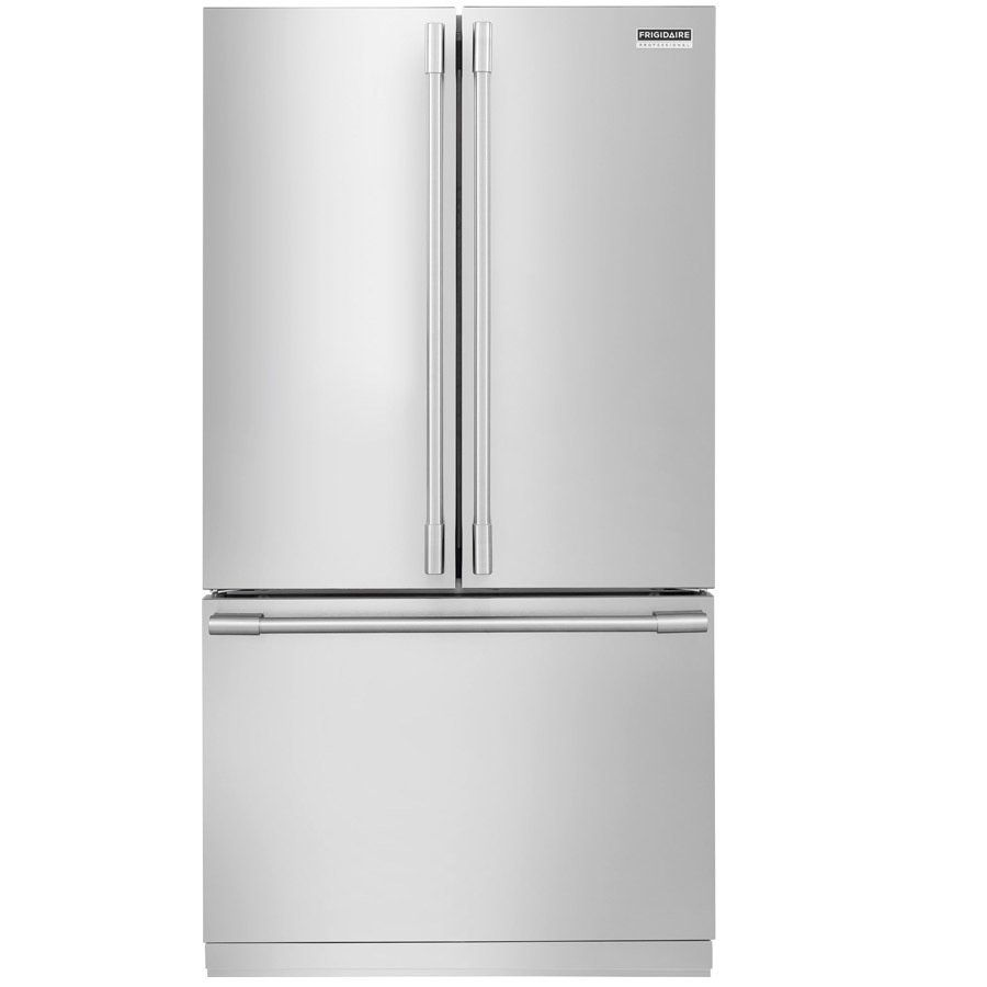 Frigidaire French Door Refrigerator With Pureair Filtration 36 Inch Stainless Steel Counter Depth Refrigerator French Door Refrigerator French Doors