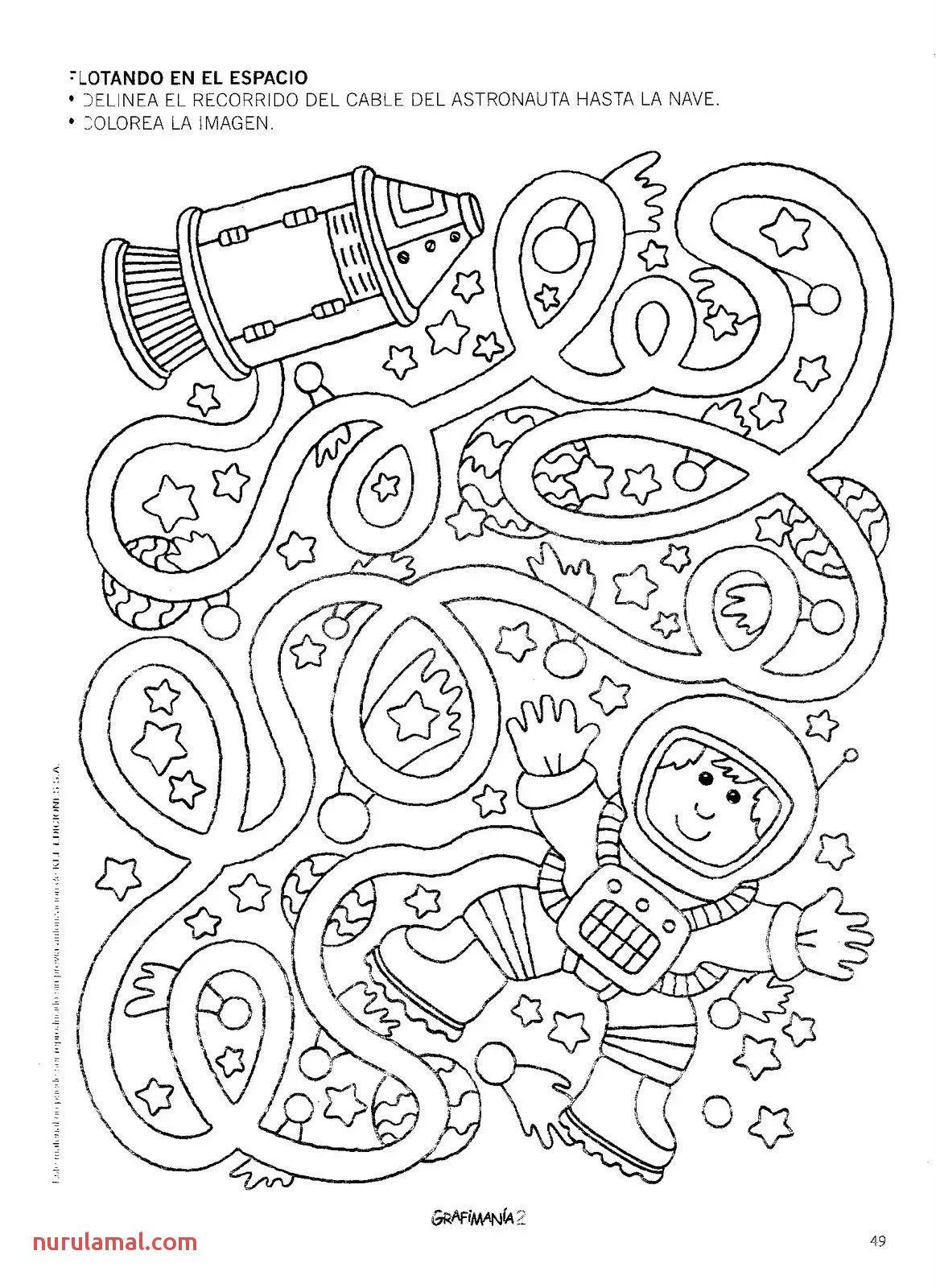 Kid Maze Worksheets Printable Space Crafts Space Preschool Mazes For Kids [ 1600 x 1163 Pixel ]