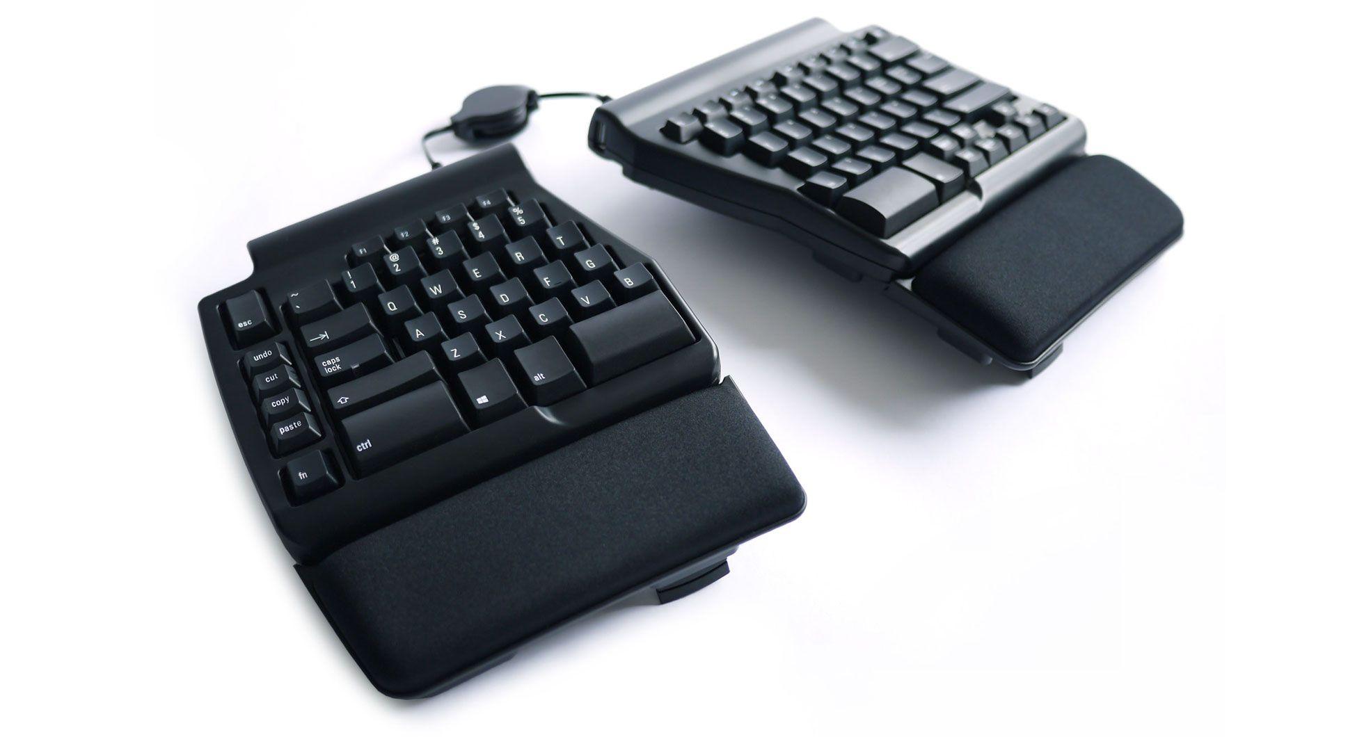 63e89b03a48 Matias Ergo Pro Keyboard - a better MECHANICAL ergonomic keyboard - for PC