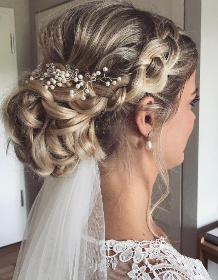 Photo of Wedding hair inspiration #weddingideas #weddingphotography #weddinghair #wedding…