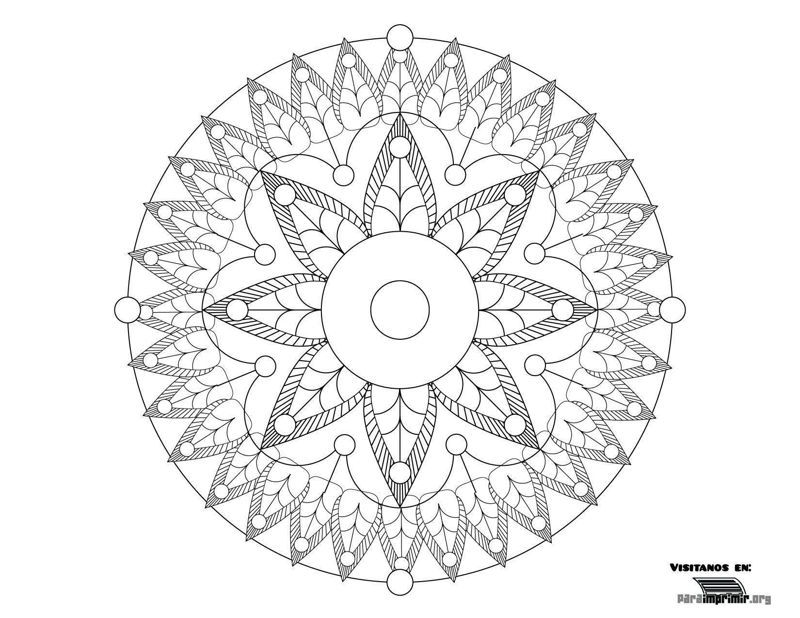 Dibujos Para Imprimir Y Colorear Mandalas: Fotos Para Imprimir - Buscar Con Google
