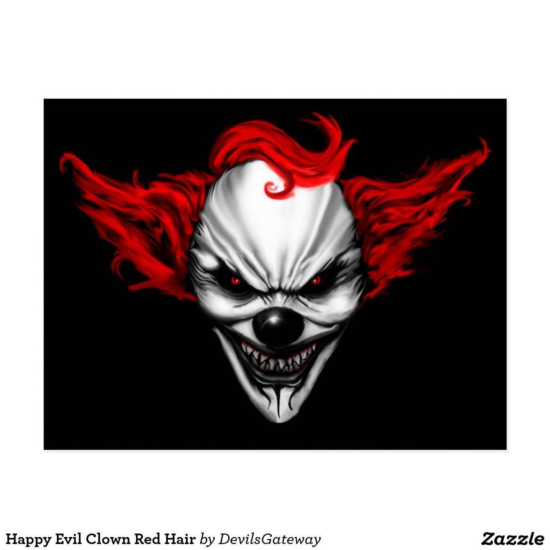 Tee Hunt Scary Circus Clown Muscle Shirt Insane Creepy Clown Evil MAD Horror