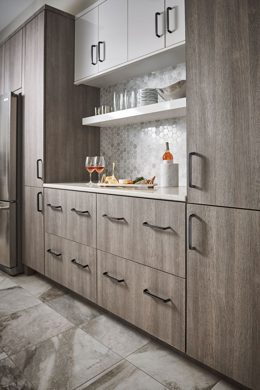 Always the perfect opening, the Top Knobs M1171 Tapered Cabinet Bar ...