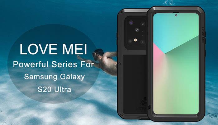 Love Mei Powerful Samsung Galaxy S20 Ultra Protective Case Samsung Galaxy Galassia
