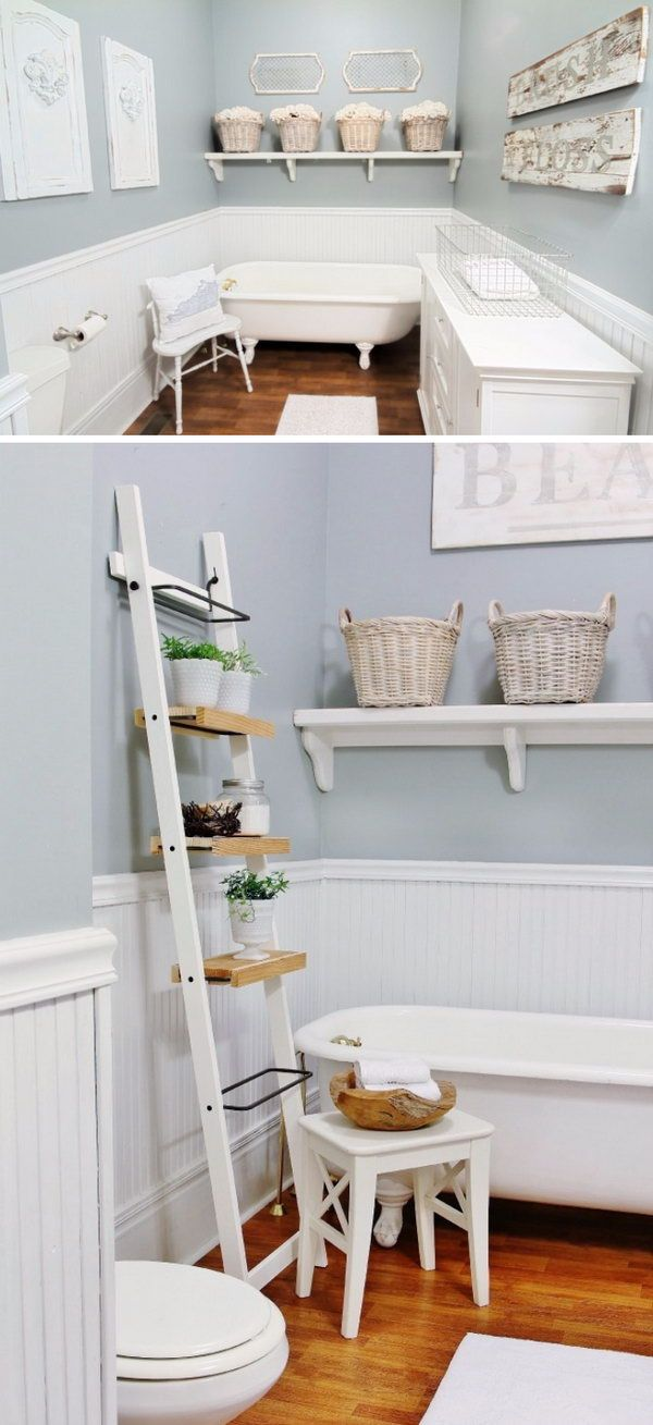 Farmhouse bathroom refresh with a little help from my friends thistlewood farm