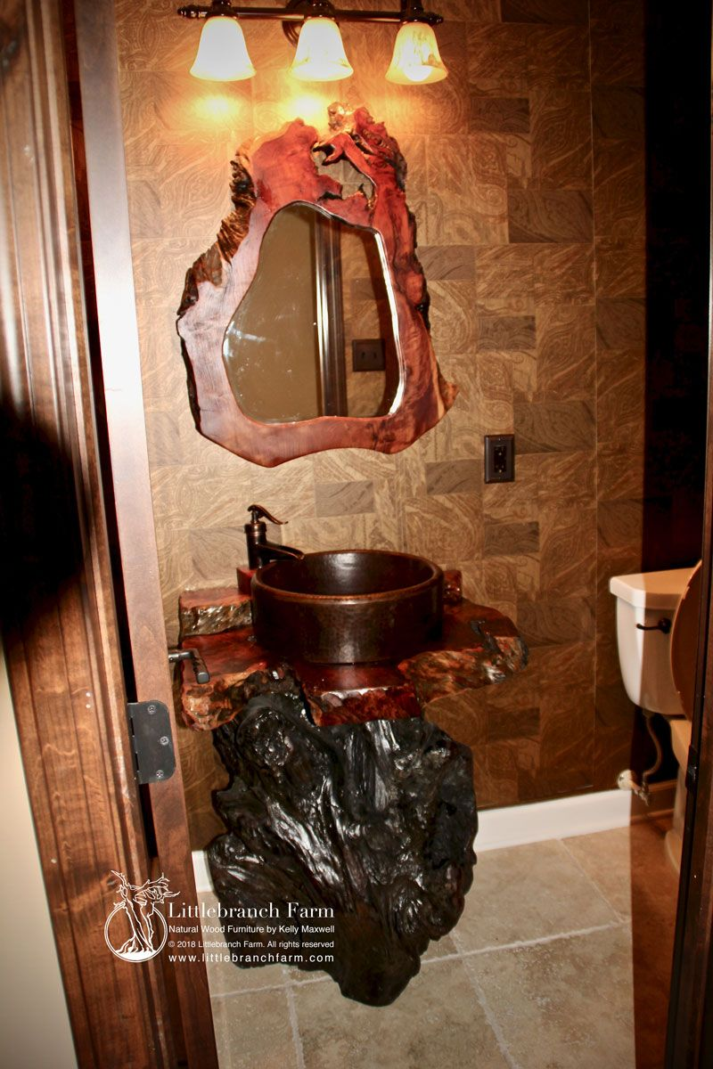 40++ Redwood bathroom vanity diy