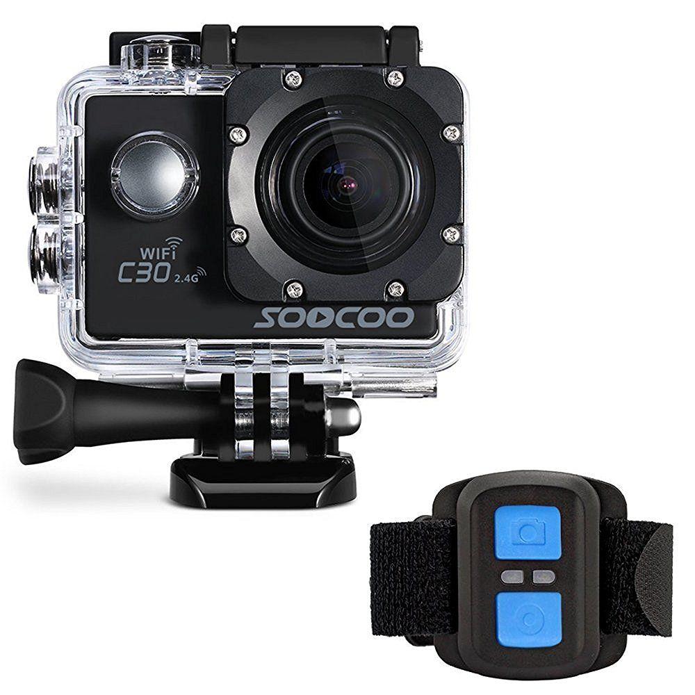 SOOCOO C30R Sports video Camera Wifi 4K Gyro Adjustable