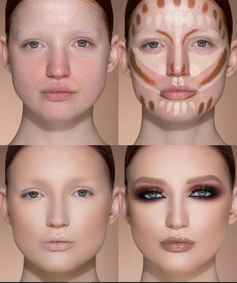 24 Perfect And Best Contour Highlight Makeup Tutorial For Beginners Page 9 Makeup Tutorial For Beginners Contouring And Highlighting Best Contouring Products
