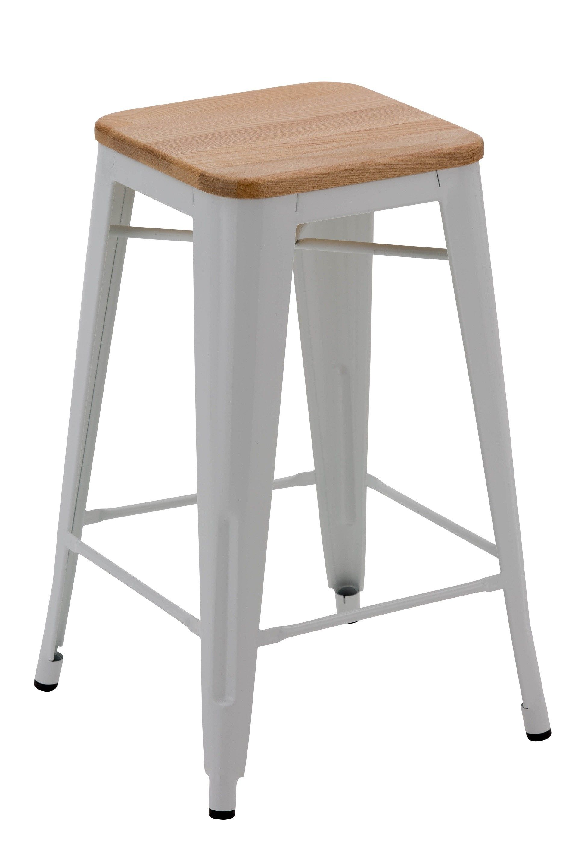 Cool Replica Xavier Pauchard Stool White Wood Top 66Cm This Creativecarmelina Interior Chair Design Creativecarmelinacom