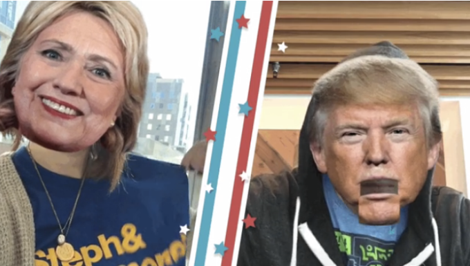Now its Periscope cloning Snapchat with augmented selfie masks Read more Technology News Here --> http://digitaltechnologynews.com Periscope is following Snapchat and Facebooks lead by creating its own animated augmented reality selfie masks. The first ones can make you look like Hillary Clinton or Donald Trump and will be available for the next week for the election. If you broadcast in selfie mode with the apps latest version youll see them docked at the bottom of the screen. Tapping them…