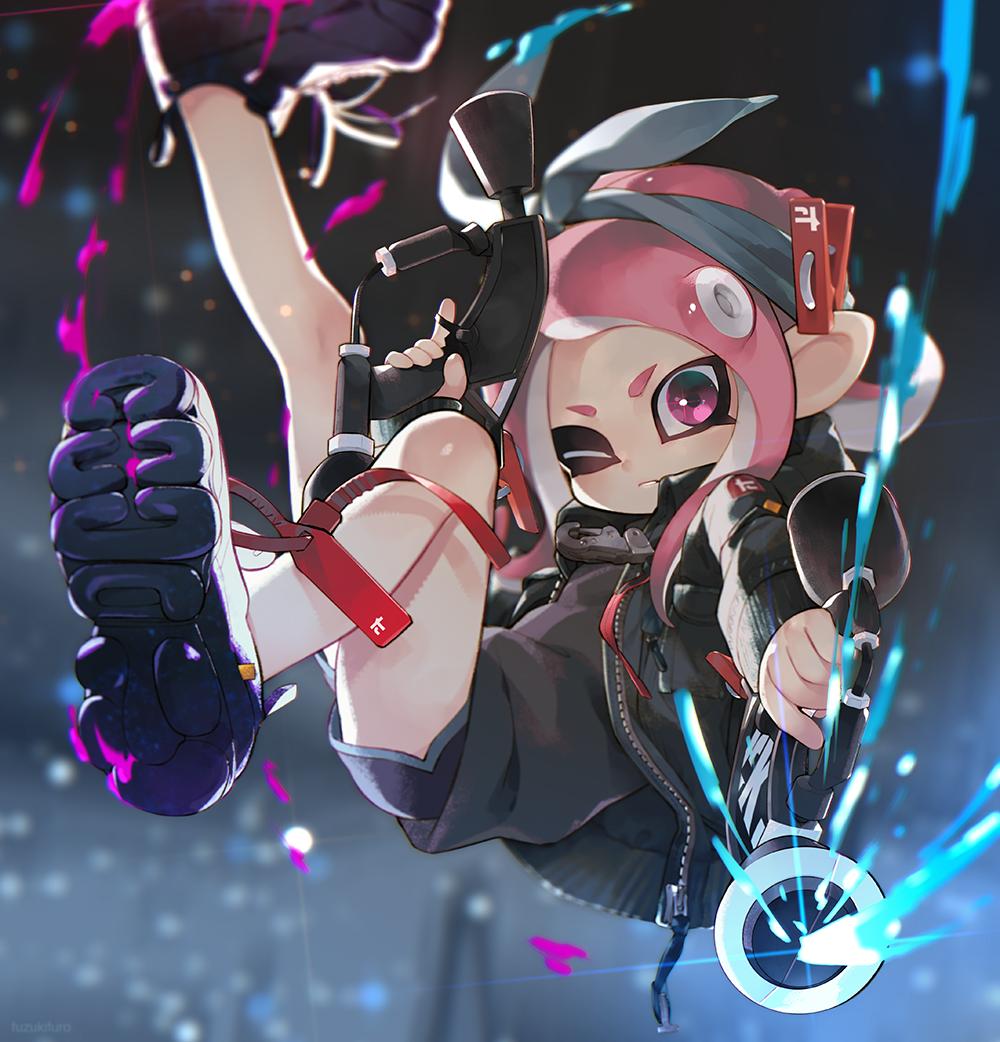 ふうろ on Splatoon Anime art, Splatoon 2 art, Video game art