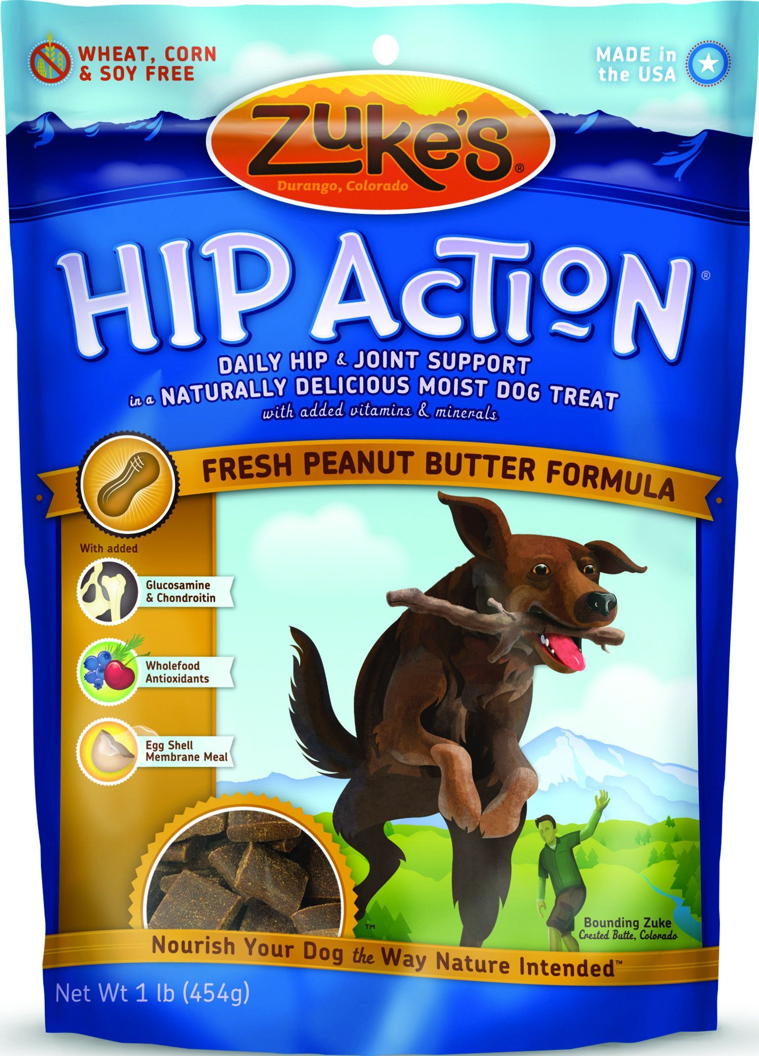 Hip Action Natural Moist Dog Treats Dog food recipes