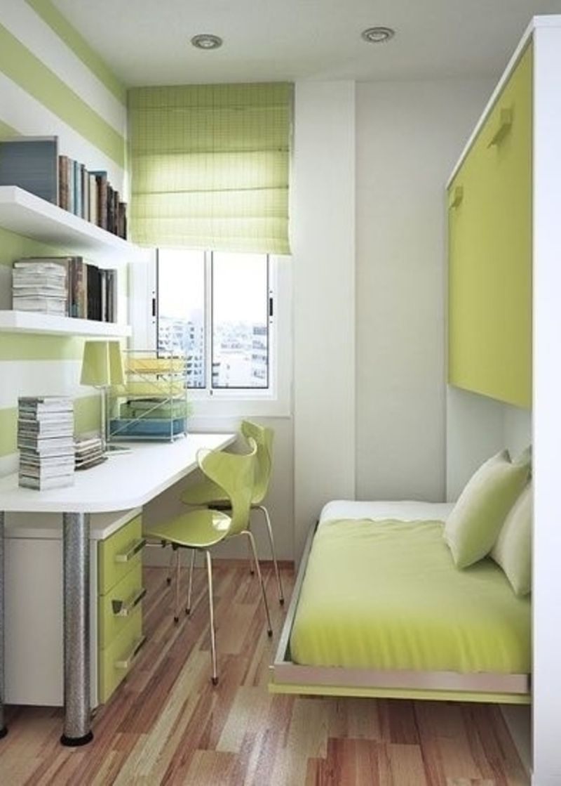 7 Top Tips For Tiny Rooms New Flat Pinterest ~ Como Decorar Una Habitacion Juvenil Pequeña