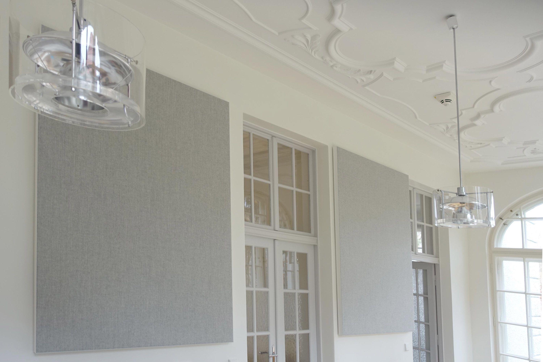 Diese Absorber passen Dank ihrem clean Design in jeden Raum und