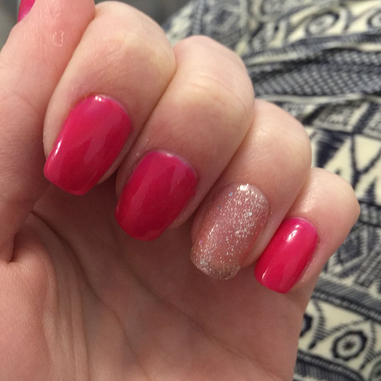 June bride and Gossip girl Gelish nails | Nails | Pinterest | Gelish ...