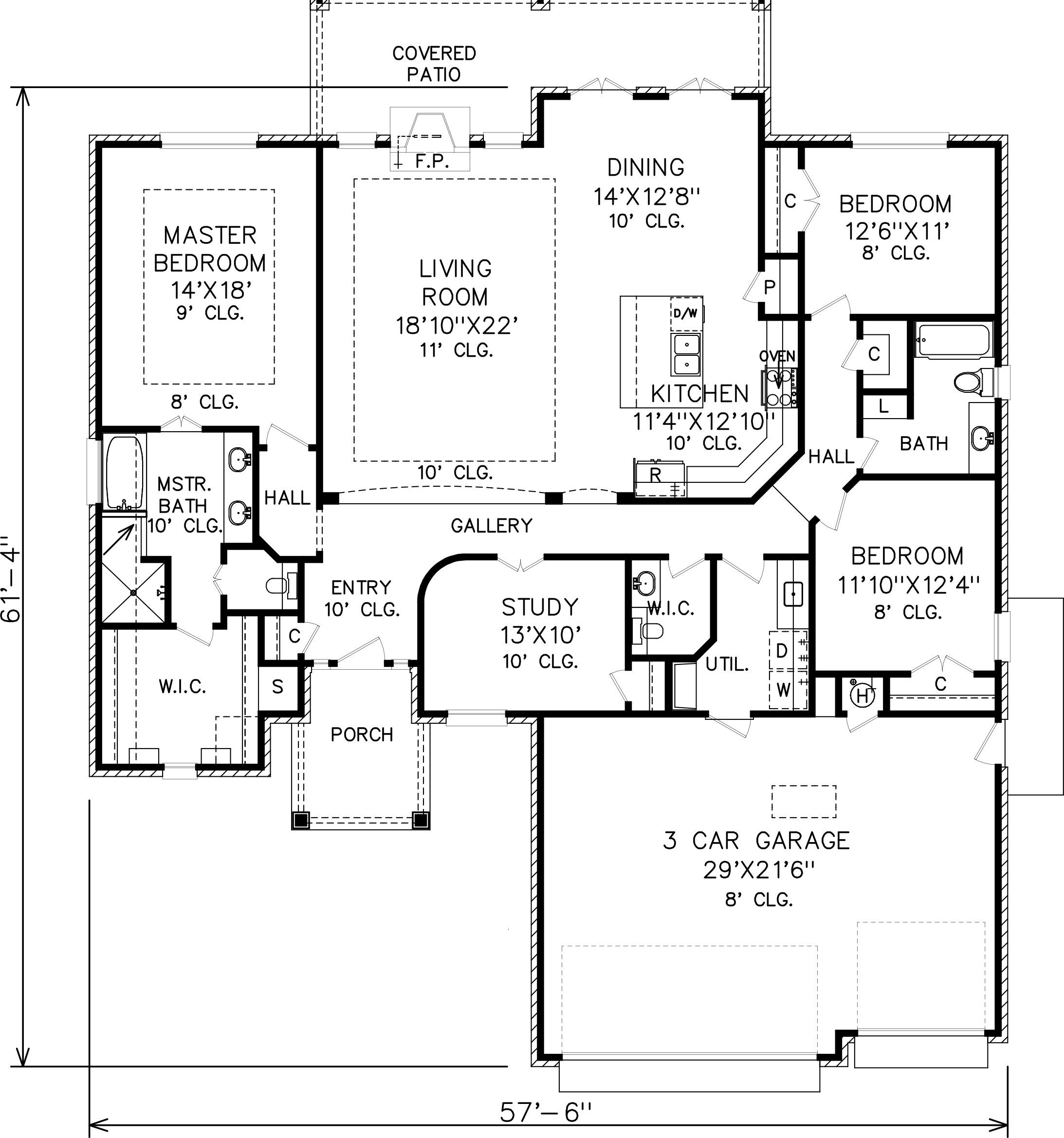 23 Inspirational Small House Plans With Open Floor Plan Pics Barndominium Floor Plans Floor Plans Kitchen Floor Plans