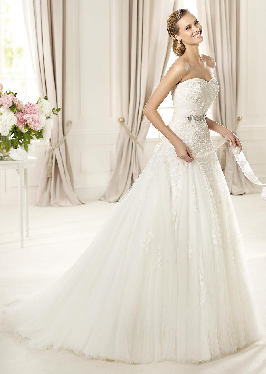 Dagen by pronovias available at teokath of london my wedding