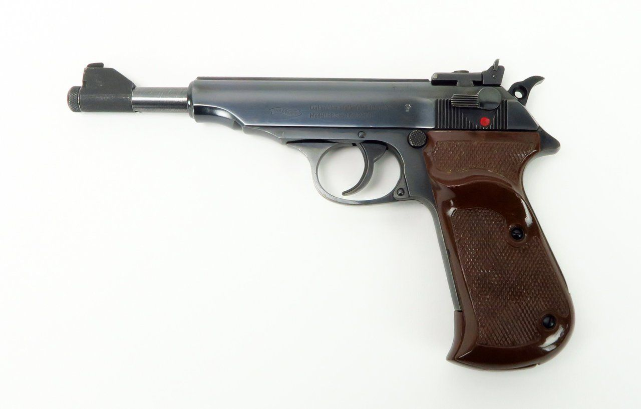 Walther PP Sport .22 LR caliber pistol. Sport with 6 ...