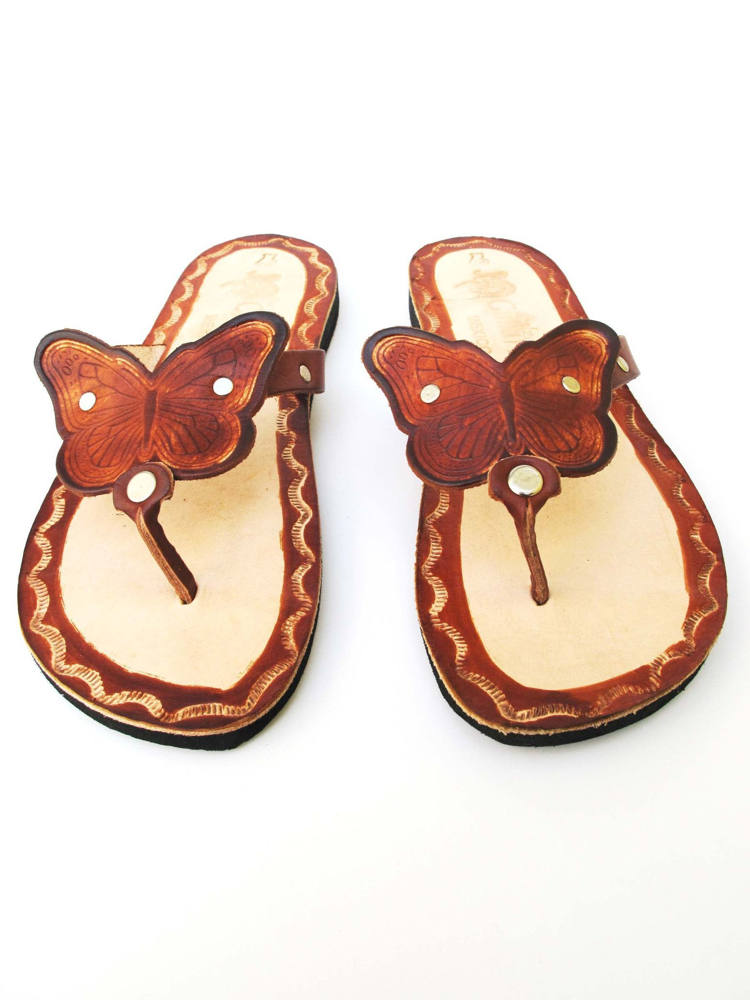 a1272db71c18d Women s Handmade Leather Mexican Sandal  Cafe and beige
