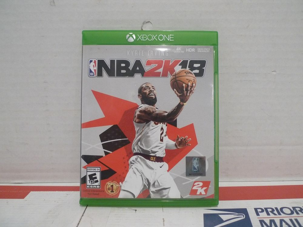 NBA 2K18 (Microsoft Xbox One, 2017) Xbox one for sale
