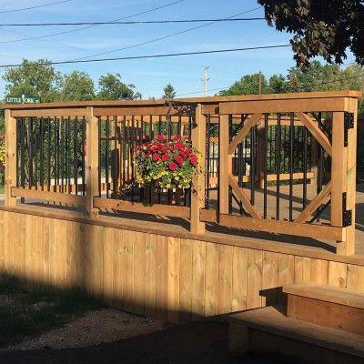 R sultats de recherche d 39 images pour porte de barriere deck deck porch ideas pinterest - Barriere piscine design ...