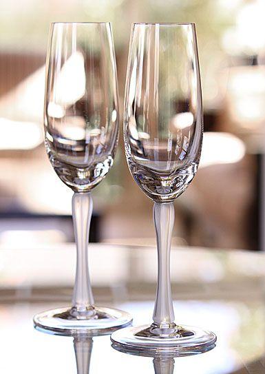 Lalique Royal Champagne Flutes