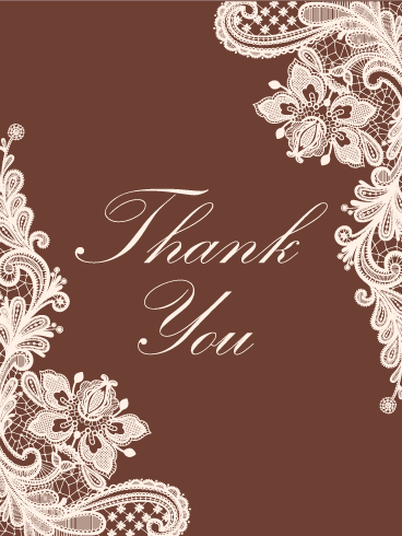 Thank You Card We Say Thank You Many Times In Our Lives But The