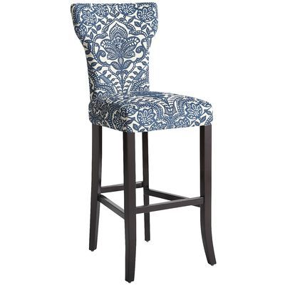 Camilla Blue Damask Bar Stool 249 95 From Pier 1 Bar Stools