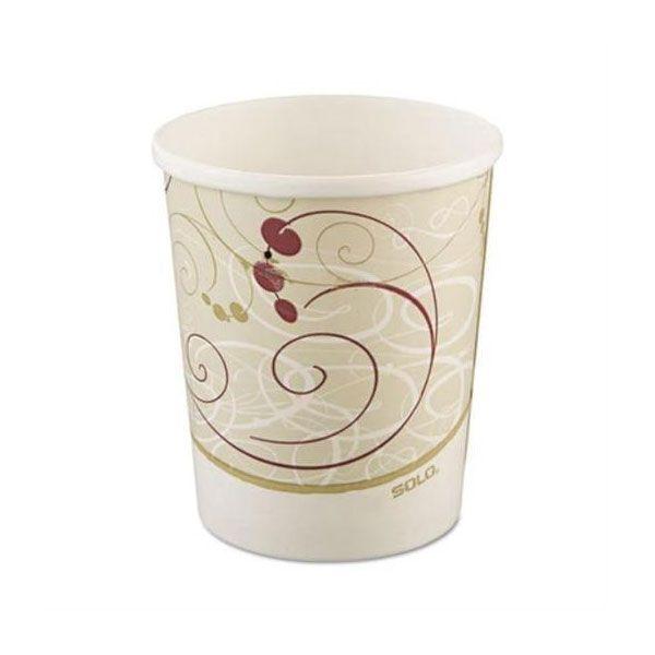 8 Oz Symphony Designed Paper Hot Cup Case Of 1000 Soup