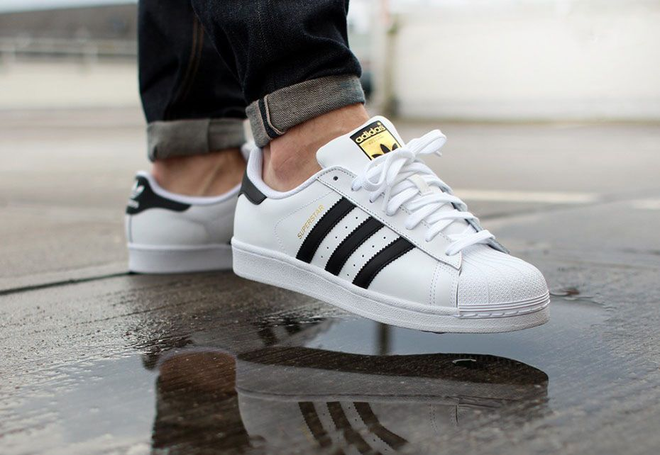 Adidas Superstar /Black Stripes/ #Originals #Black #Tumblr