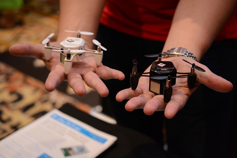 Palm Sized Zano Drone Zips Into CES 2015