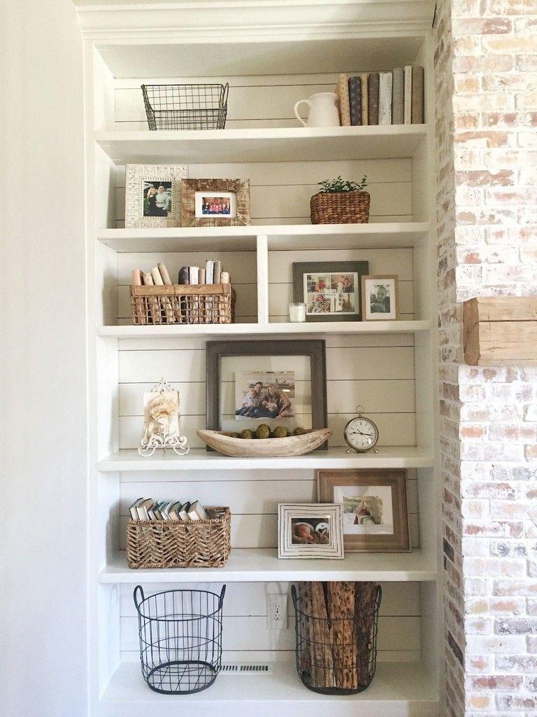 85 Beautiful Farmhouse Style Fireplace Ideas http