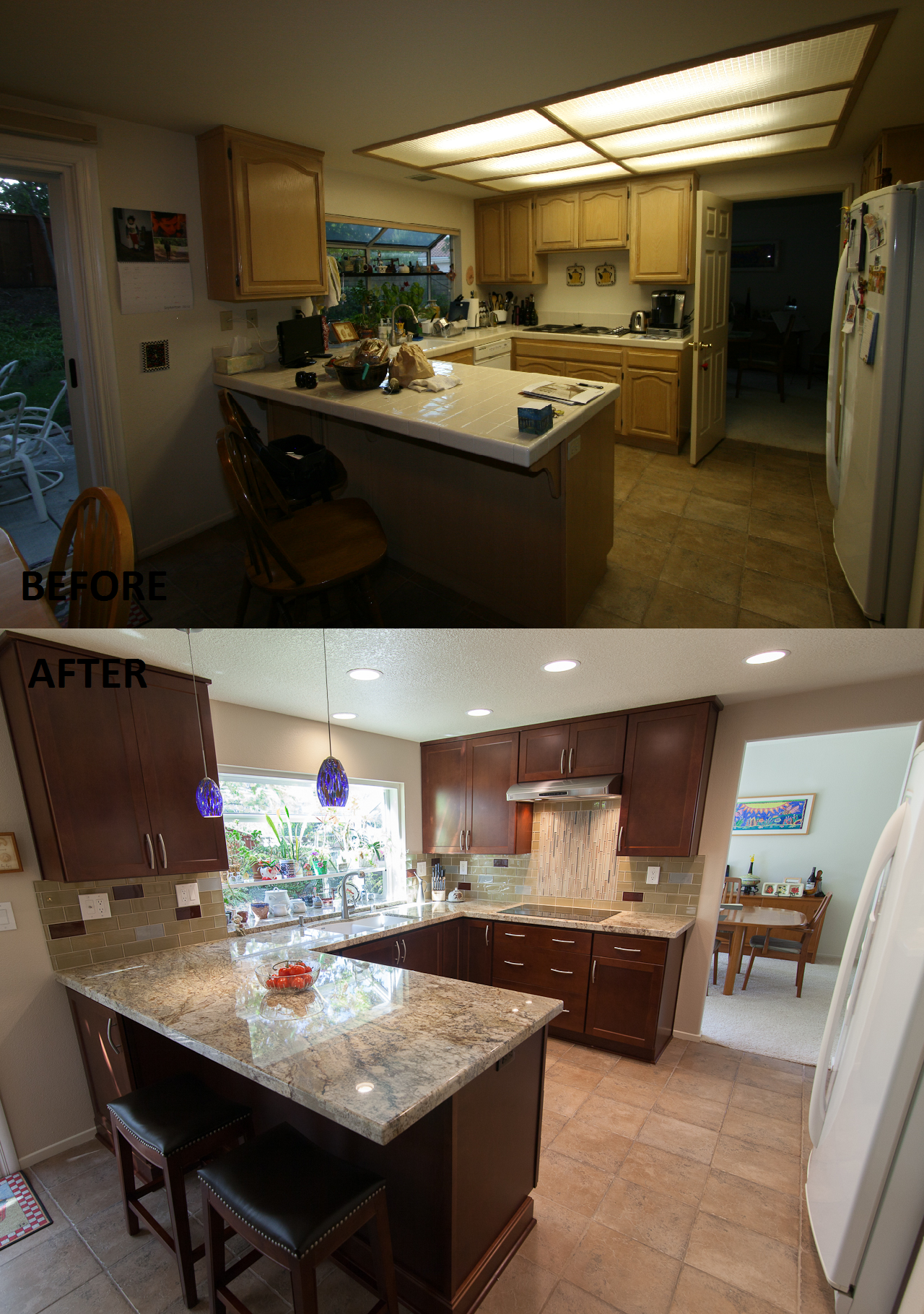 Kitchen Remodel done by Kitchens Etc of Ventura County The