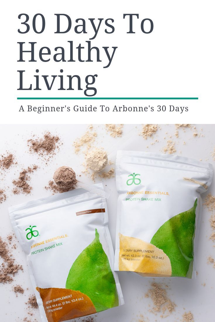 Arbonne 30 Days to Healthy Living #cleaneatingresults