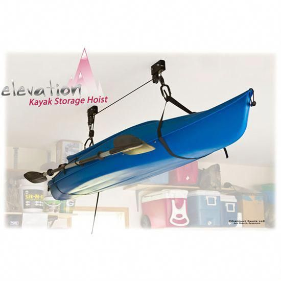 Elevation Kayak Storage Hoist