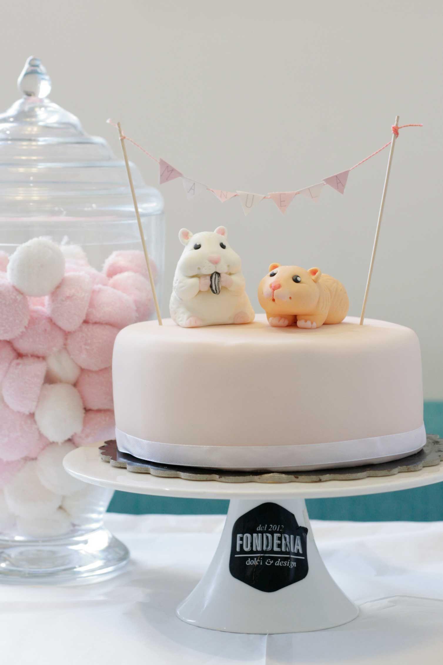 Hamster And Cake Eeeeee Animals Pinterest Cake - Hamster birthday cake