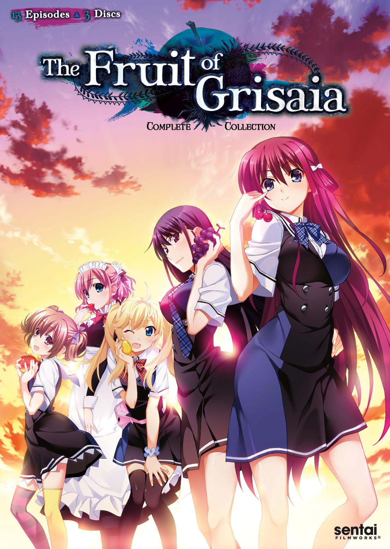 Fruit of Grisaia Season 1 DVD Grisaia no kajitsu
