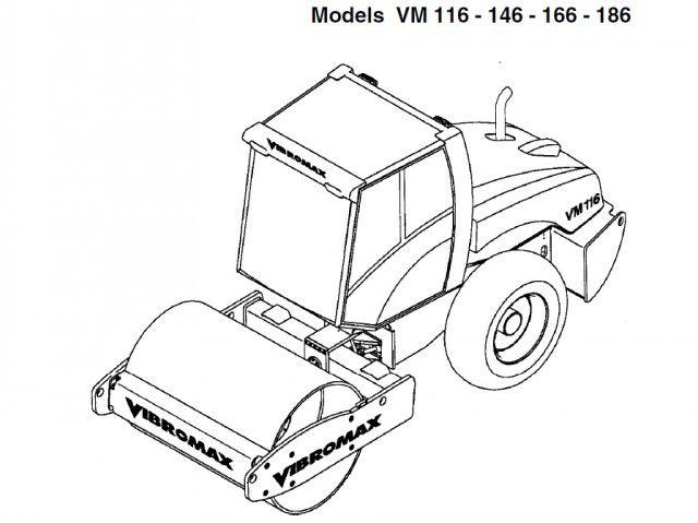 Jcb Vibromax Vm116 Single Drum Roller Service Repair Manual In 2020 Repair Manuals Repair Wheels And Tires