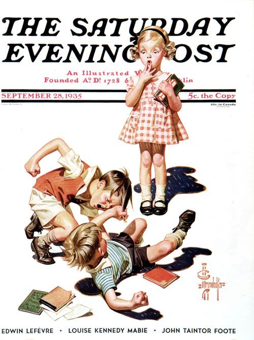Classic Covers: The Art of Impressing Girls | The Saturday Evening Post