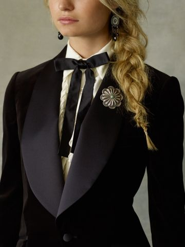 c1325cc3625 Ralph Lauren velvet tuxedo jacket. hottttttttt | Ready to Wear in ...