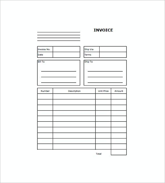 web design invoice templates Free , Graphic Design Invoice - web invoice