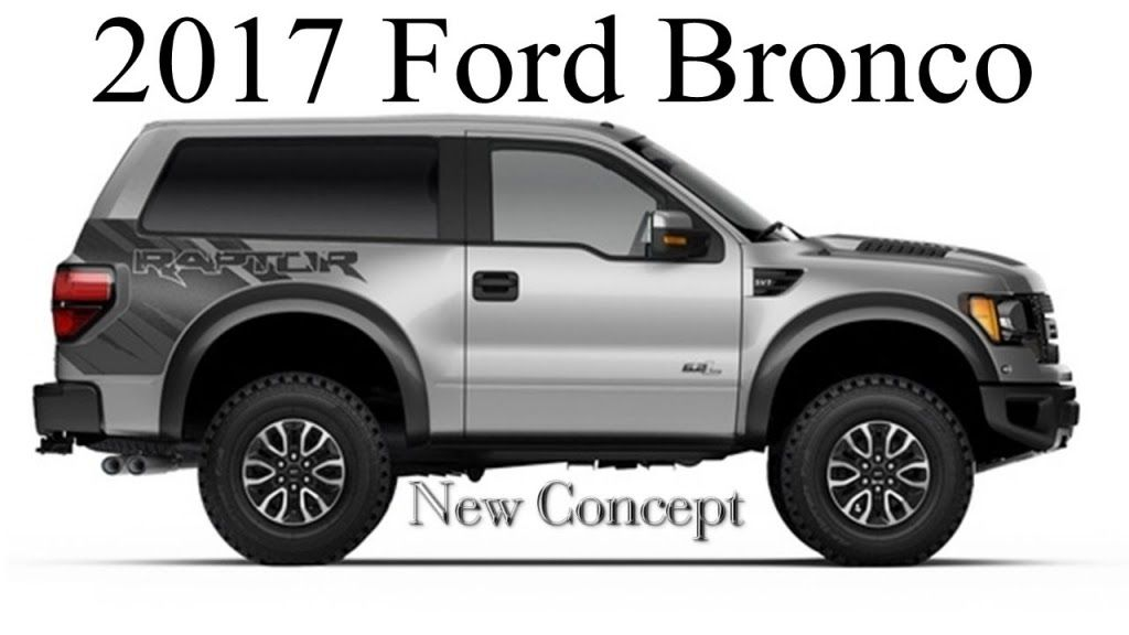 New Ford Bronco 2020 Uk