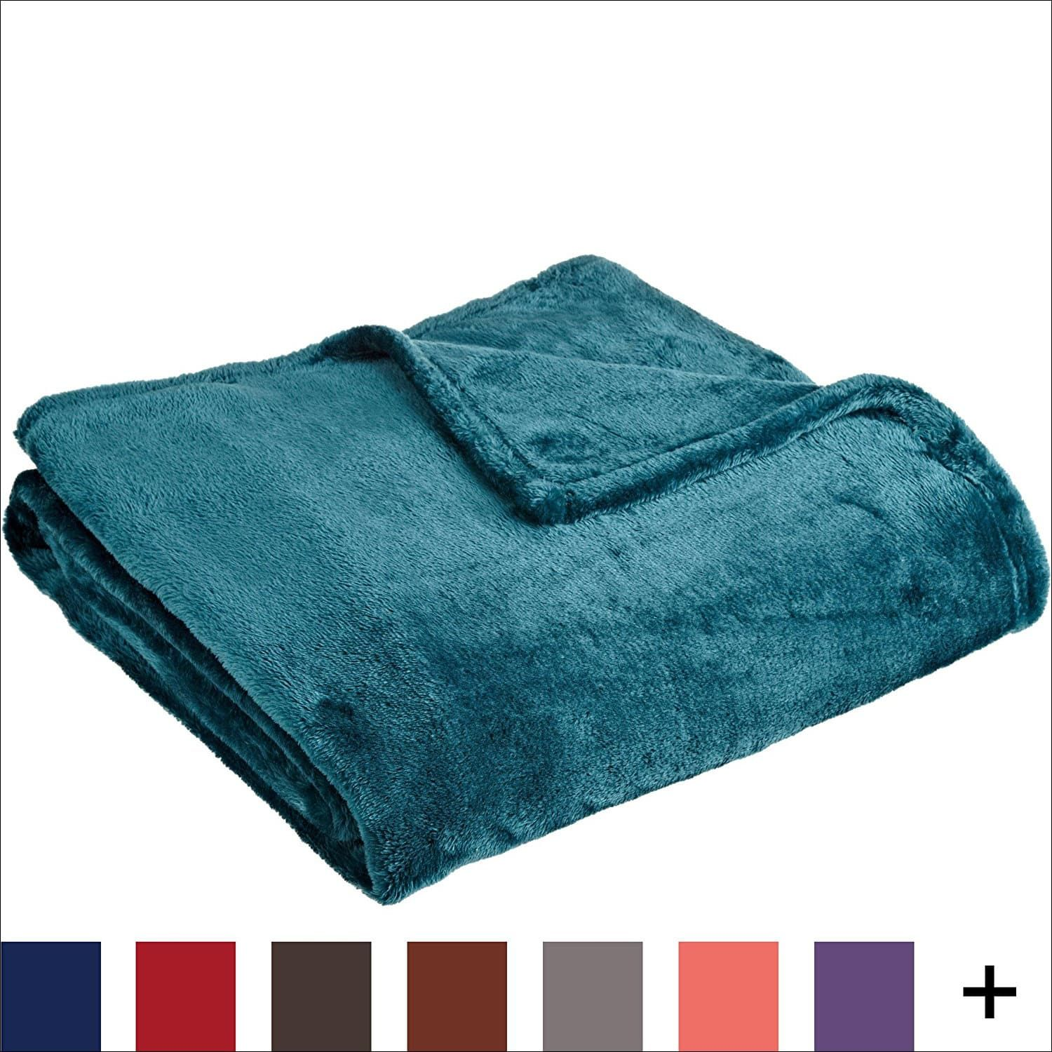 Northpoint cashmere plush throw blanket top best throw blankets