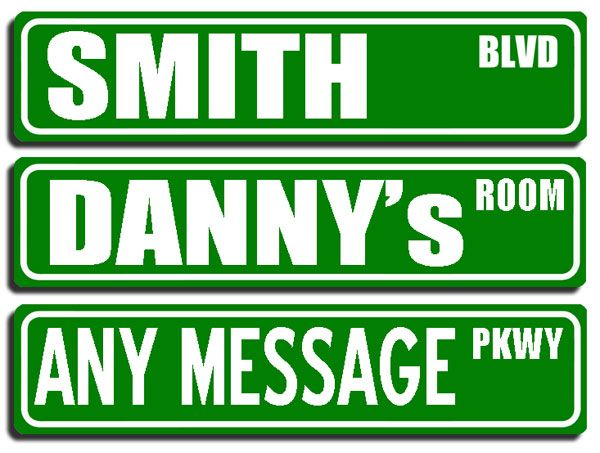 Sesame street sign template street sign made with their sesame street sign template street sign made with their child s name pronofoot35fo Choice Image