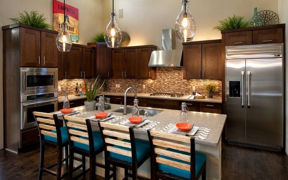Decorating above kitchen cabinets by Andrea Frank on ...