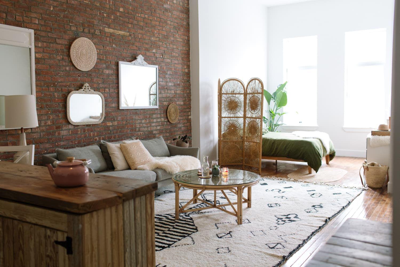 a warm organic brooklyn apartment was designed with zero waste in mind decor interior design on zero waste kitchen interior id=35553