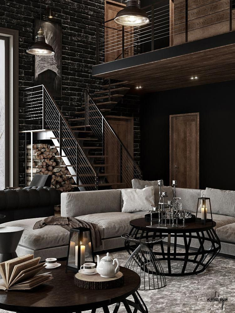 Home Decor Trend To Know Industrial Living Room Rustic Livingroomideas Lindustrial Li Industrial Chic Interior Industrial Chic Decor Urban Industrial Decor