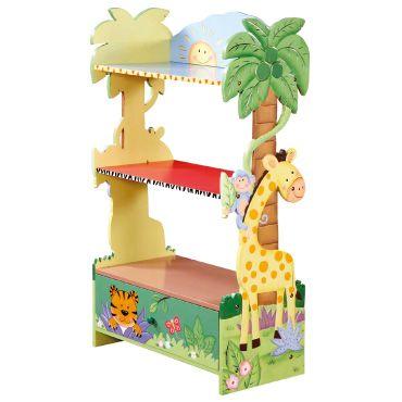 Safari Bookcase With Drawer Nursery Furniture